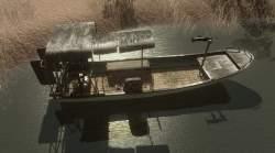 Far Cry 2 vozidla - Vznášedlo s M-249