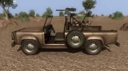 Far Cry 2 vozidla - Útořný náklaďák s MK-19