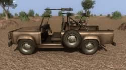 Far Cry 2 vozidla - Útočný náklaďák s M2 ráže .50