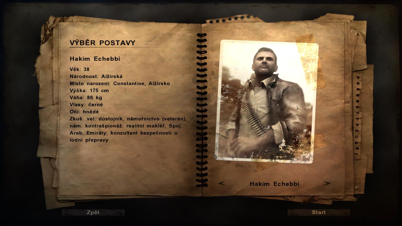 Far Cry 2 postavy