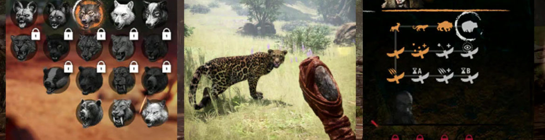 Far Cry Primal: Jaká zvířata půjdou ochočit?